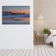 Load image into Gallery viewer, Cement Ship At Sunset - Canvas Print - Santa Cruz Art Prints
