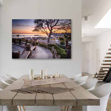 Load image into Gallery viewer, Depot Hill - Metal Wall Print in Dining Room