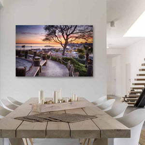 Depot Hill - Metal Wall Print in Dining Room