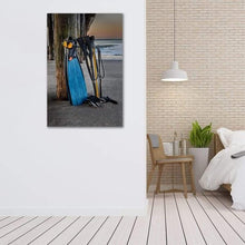 Load image into Gallery viewer, Freediving at Seacliff Pier - Bed Room Wall Art Print