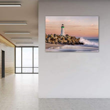 Load image into Gallery viewer, The Harbor Lighthouse - Office Metal Print