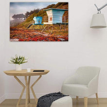 Load image into Gallery viewer, Lifeguard Towers in Winter - Study Wall Art Prints