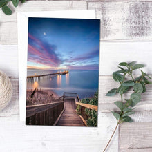Load image into Gallery viewer, Magical Morning In Capitola - Greeting Card - Santa Cruz Art Prints