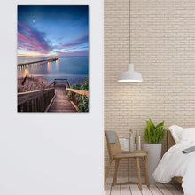Load image into Gallery viewer, Magical Morning In Capitola - Framed Print - Santa Cruz Art Prints