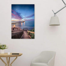 Load image into Gallery viewer, Magical Morning In Capitola - Metal Print