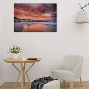 Santa Cruz Lighthouse at Sunrise - Studio Wall Art Print