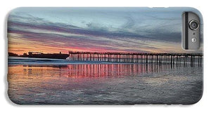 Silhouette Of Seacliff Pier - Phone Case - Santa Cruz Art Prints
