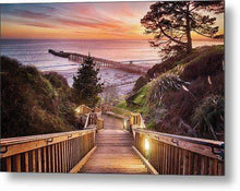 Load image into Gallery viewer, Stairway to the Sunset - Metal Wall Art Print