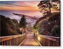 Load image into Gallery viewer, Stairway To The Sunset - Acrylic Print - Santa Cruz Art Prints