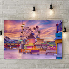 Load image into Gallery viewer, Sunrise On The Boardwalk - Art Print - Santa Cruz Art Prints