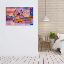 Load image into Gallery viewer, Sunrise on the Boardwalk - Bedroom Metal Wall Art Print
