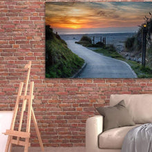 Load image into Gallery viewer, Sunset On The Beach - Canvas Print - Santa Cruz Art Prints