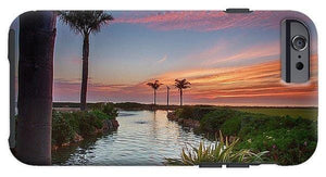 Sunset In The Palms - Phone Case - Santa Cruz Art Prints