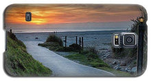 Load image into Gallery viewer, Sunset On The Beach - Phone Case - Santa Cruz Art Prints