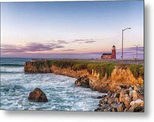 Load image into Gallery viewer, Surfing Museum at Sunrise - Metal Wall Art Print