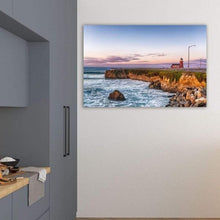 Load image into Gallery viewer, Surfing Museum at Sunrise - Kitchen Metal Wall Art Print