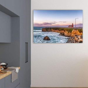Surfing Museum at Sunrise - Kitchen Metal Wall Art Print