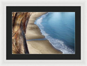 The Colors Of New Brighton Beach - Framed Print - Santa Cruz Art Prints