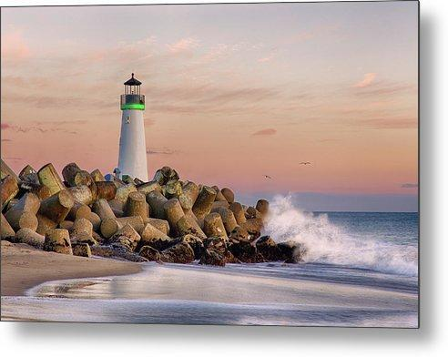 The Harbor Lighthouse - Metal Print