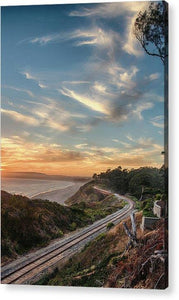 Le Selva Train Trestle - Acrylic Print - Santa Cruz Art Prints