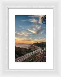 La Selva Train Trestle - Framed Print - Santa Cruz Art Prints