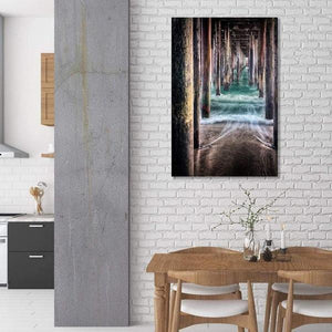 Under the Pier - Kitchen Wall Art Print