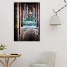 Load image into Gallery viewer, Under the Pier - Study Wall Art Print