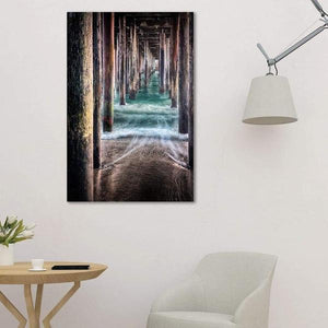 Under the Pier - Study Wall Art Print