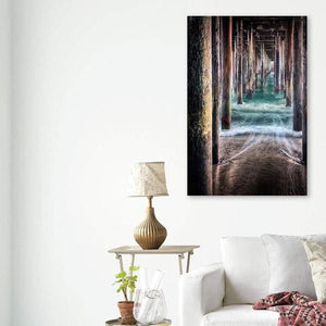Under the Pier - Living Room Wall Art Print