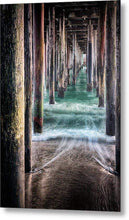 Load image into Gallery viewer, Under the Pier - Metal Wall Art Print