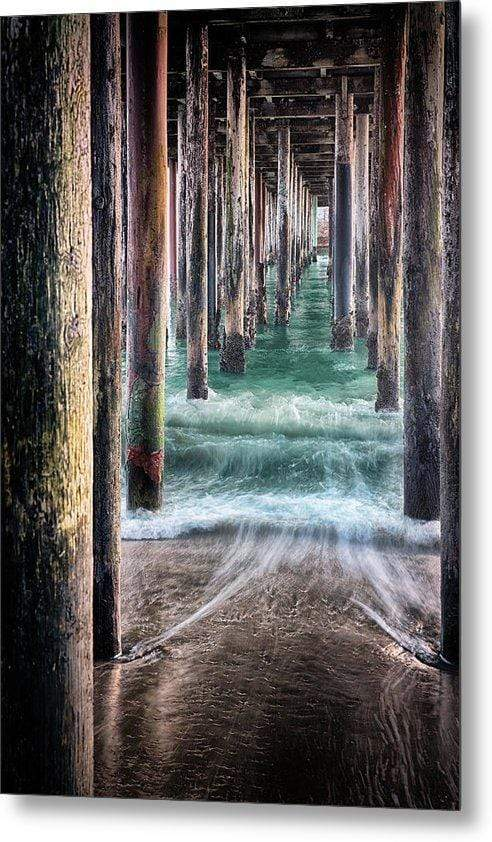 Under the Pier - Metal Wall Art Print