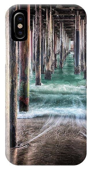 Under The Pier - Phone Case - Santa Cruz Art Prints
