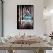 Load image into Gallery viewer, Under the Pier - Dining Room Wall Art Print