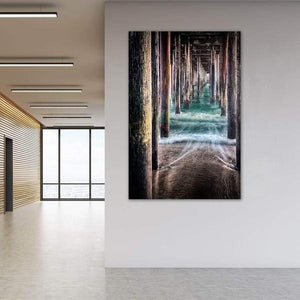 Under the Pier - Office Wall Art Print