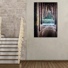 Load image into Gallery viewer, Under The Pier - Art Print - Santa Cruz Art Prints