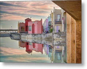 Venetian Reflections - Metal Print