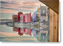 Load image into Gallery viewer, Venetian Reflections - Greeting Card - Santa Cruz Art Prints