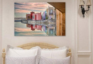Venetian Reflections - Bedroom Metal Print
