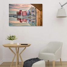 Load image into Gallery viewer, Venetian Reflections - Library Metal Print