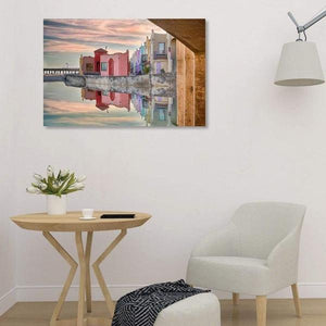 Venetian Reflections - Library Metal Print