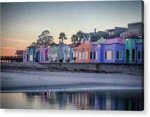 Venetians At Dusk  - Acrylic Print - Santa Cruz Art Prints