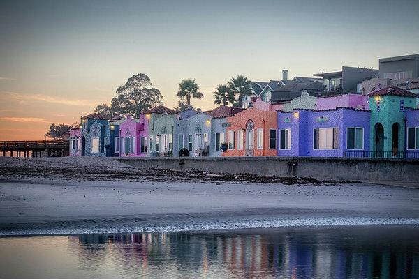 Venetians At Dusk  - Art Print - Santa Cruz Art Prints