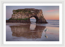 Load image into Gallery viewer, White Bird - Framed Print - Santa Cruz Art Prints