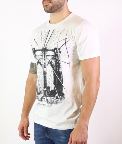 Brooklyn Bridge Short Sleeve Crew Neck