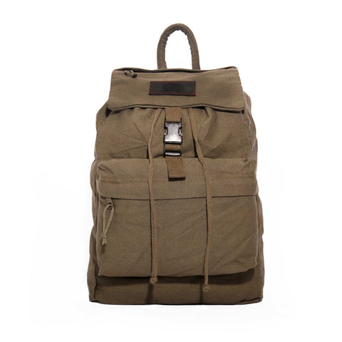 Canvas Backpack - Black & Denim Apparel Company