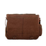 Executive Messenger Bag - Black & Denim Apparel Company