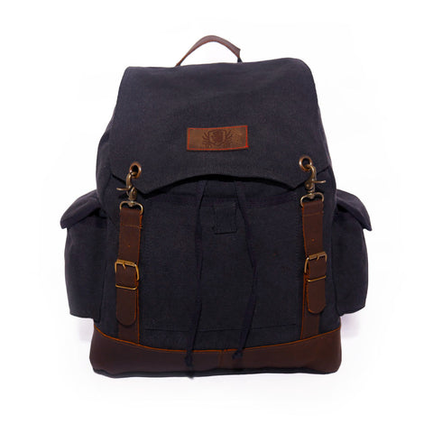 Explorer Backpack - Black & Denim Apparel Company