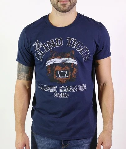 *Vintage* Blind Tiger Coffee Roasters Unisex Tee