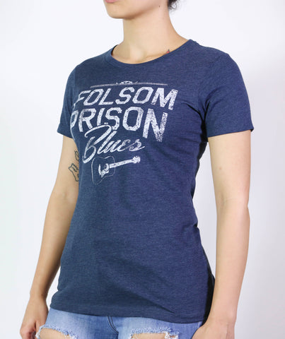 Folsom Prison Blues Women's Short Sleeve Crew