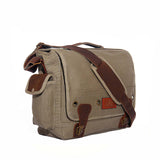 Laptop Messenger Bag - Black & Denim Apparel Company